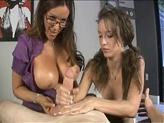 Young Lady Let Mommy Teach you  How To use Your hands